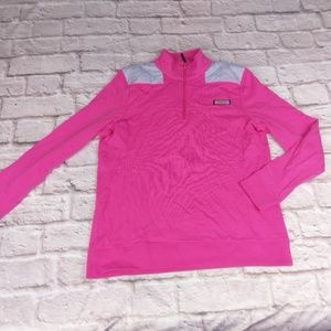 Vineyard Vines medium pink pullover sweater